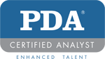 PDA Certified Analyst